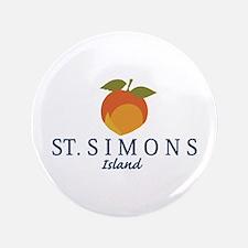 St. Simons Island - Georgia. Button