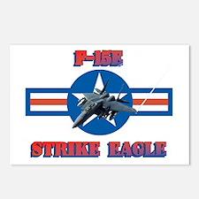 F-15E Strike Eagle Postcards (Package of 8)