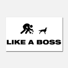 Irish Red and White Setter Car Magnet 20 x 12