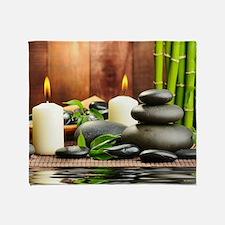 Zen Display Throw Blanket