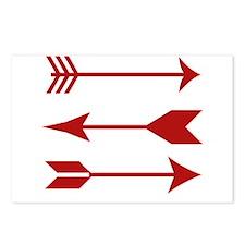 Maroon Arrows Postcards (Package of 8)