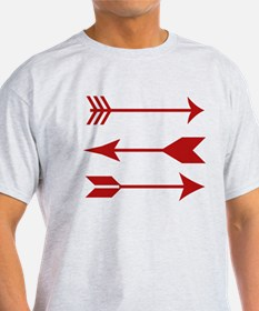 Maroon Arrows T-Shirt