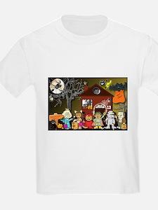 "ASL-based ""Halloween Town"" T-Shirt"