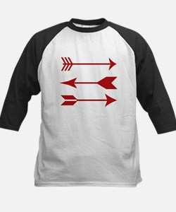 Maroon Arrows Baseball Jersey
