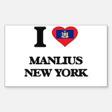 I love Manlius New York Decal