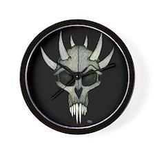 Mousepad 9.5x8 SpikedSkull.png Wall Clock
