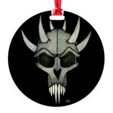 Mousepad 9.5x8 SpikedSkull.png Ornament