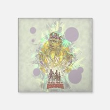 "Infinity Gauntlet Square Sticker 3"" x 3"""