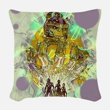 Infinity Gauntlet Woven Throw Pillow