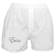 Gold Erica Boxer Shorts