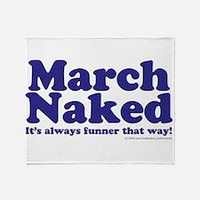 March copy.jpg Throw Blanket
