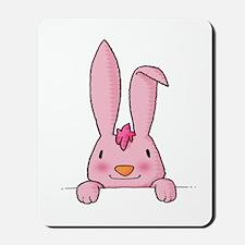 maternity baby girl rabbit Mousepad