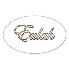 Gold Eulah Decal