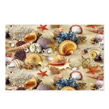 Sea Shells Postcards (Package of 8)