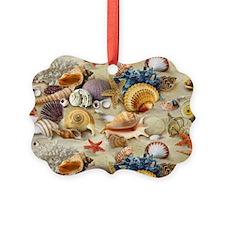 Sea Shells Picture Ornament