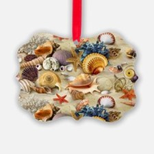 Sea Shells Picture Ornament