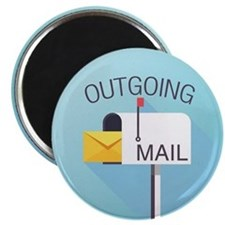Outgoing Mail Magnets