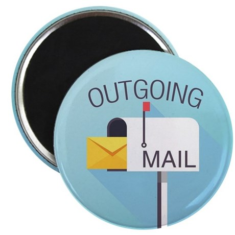 Outgoing Mail Magnets By Threadster