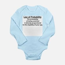 Law of Probability Body Suit