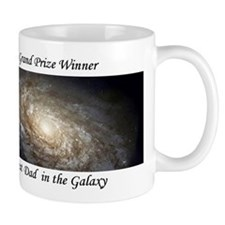 Best Dad in the Galaxy Astronomy Mug Gift