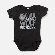 Funny Wolf Baby Bodysuit