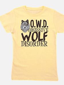 Funny Wolf Girl's Tee