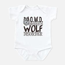 Funny Wolf Infant Bodysuit