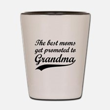 Promoted to Grandma Shot Glass