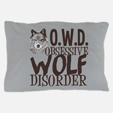 Funny Wolf Pillow Case