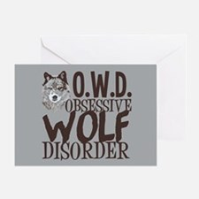 Funny Wolf Greeting Card