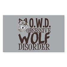 Funny Wolf Decal
