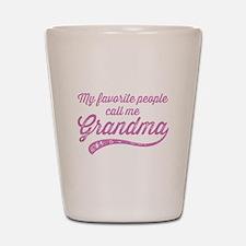 Call Me Grandma Shot Glass