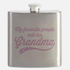 Call Me Grandma Flask