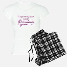 Call Me Grandma Pajamas