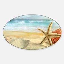 Starfish on Beach Decal