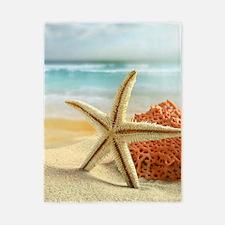 Starfish on Beach Twin Duvet