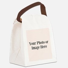 Your Photo or Design Here Canvas Lunch Bag