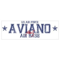 Aviano Air Base Italy Canvas Art