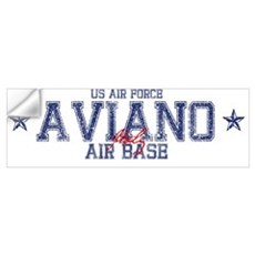 Aviano Air Base Italy Wall Decal