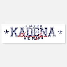 Kadena Air Base Japan Bumper Bumper Sticker