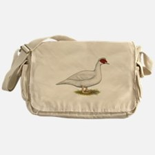 Duck White Muscovy Messenger Bag