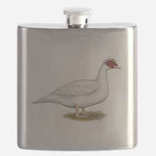 Duck White Muscovy Flask