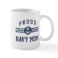 Proud Navy Mom Vintage Mug