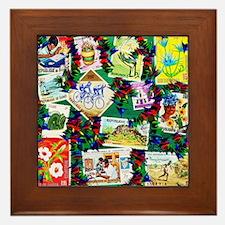 AFRICA HERITAGE Framed Tile
