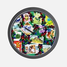 AFRICA HERITAGE Wall Clock