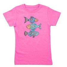 Unique Fish pond Girl's Tee