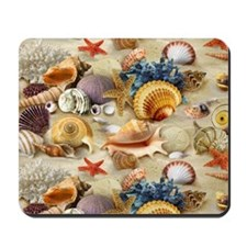 Sea Shells Mousepad
