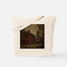 rustic burlap farm barn Tote Bag