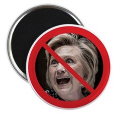 "No Hillary 2.25"" Magnet (10 pack)"