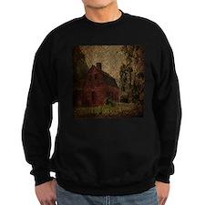 rustic burlap farm barn Jumper Sweater